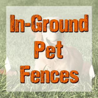 In-Ground Pet Fences